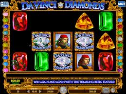 Da Vinci Diamonds Slot Screenshot
