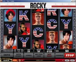 Rocky Slot Screenshot